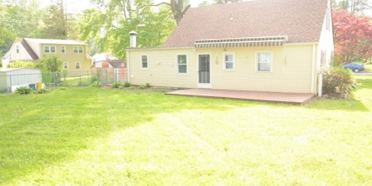 4 Bedroom house with perfect yard