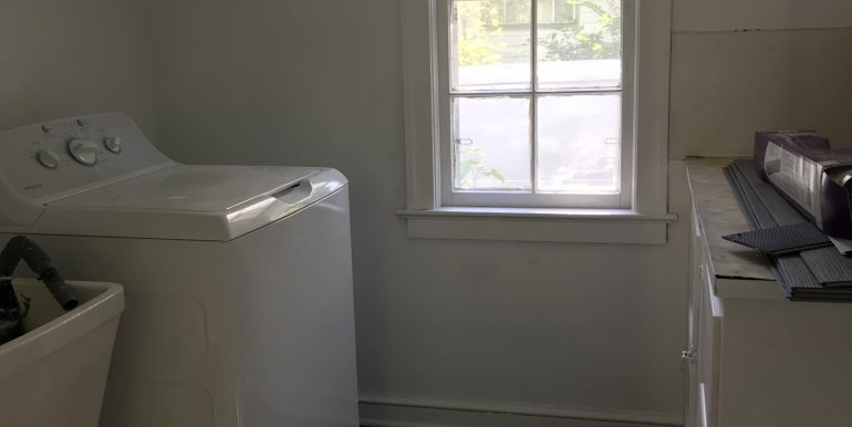 Laundry room- new washer